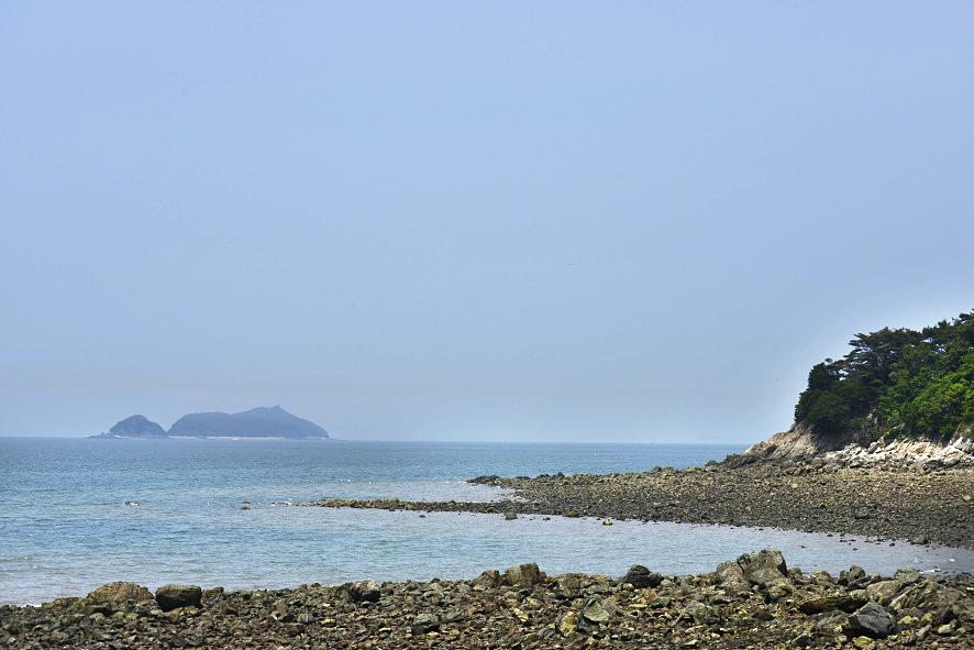 도지섬에서 바라본 입파도