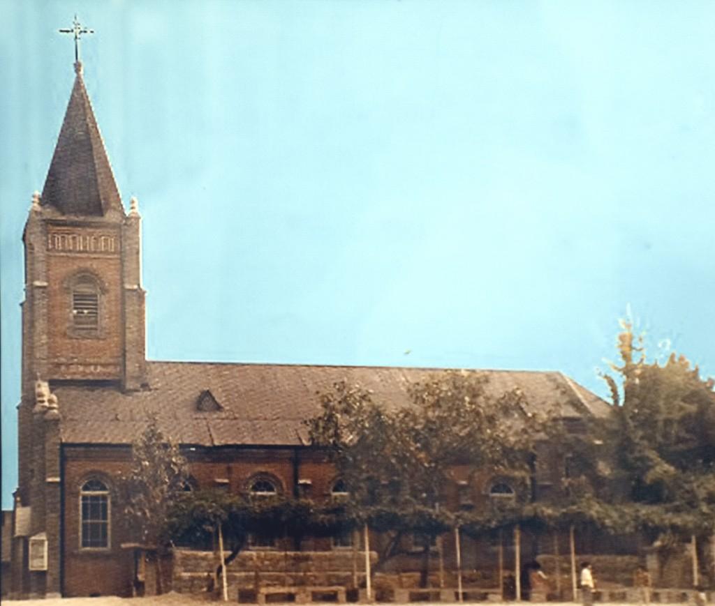 옛 모습의 북수동 성당