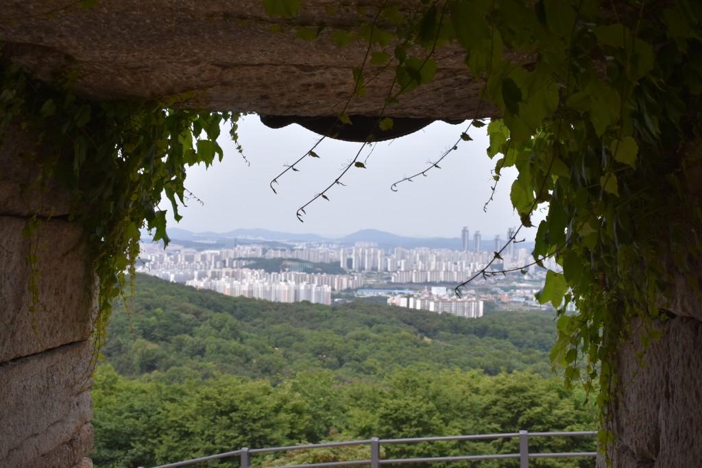 동굴내에서 보는 풍경
