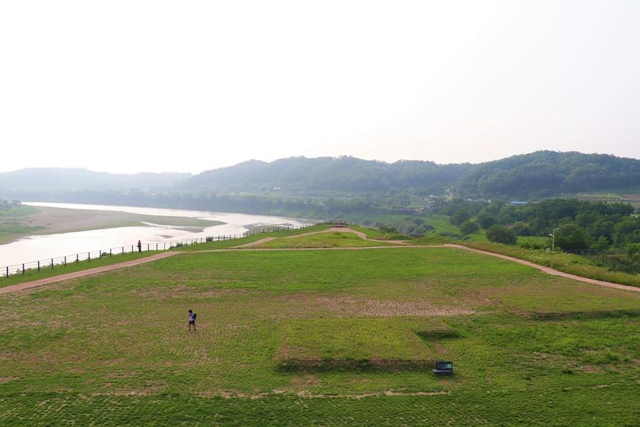 고구려 옛성터 풍경