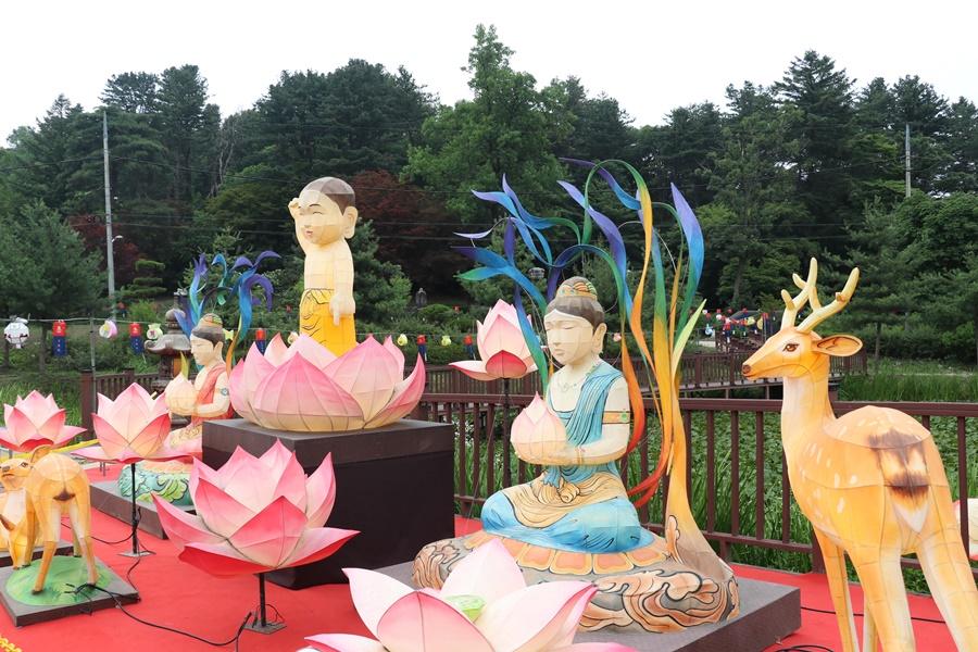 불교 점등장치
