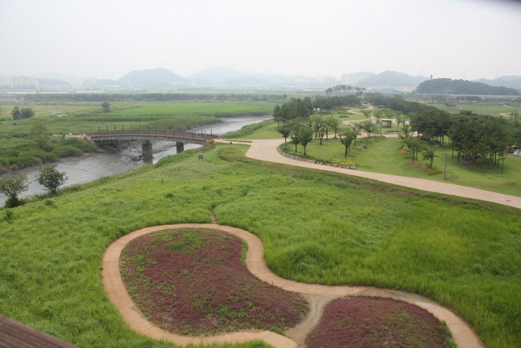 갯골생태공원 전경