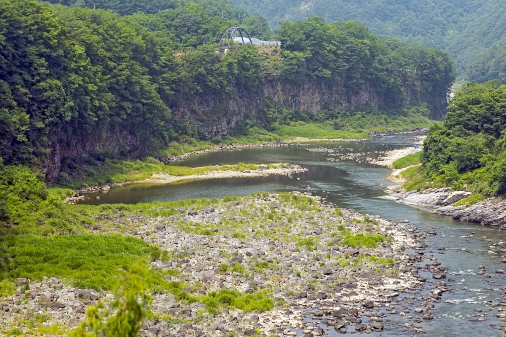 한탄강 멍우리협곡