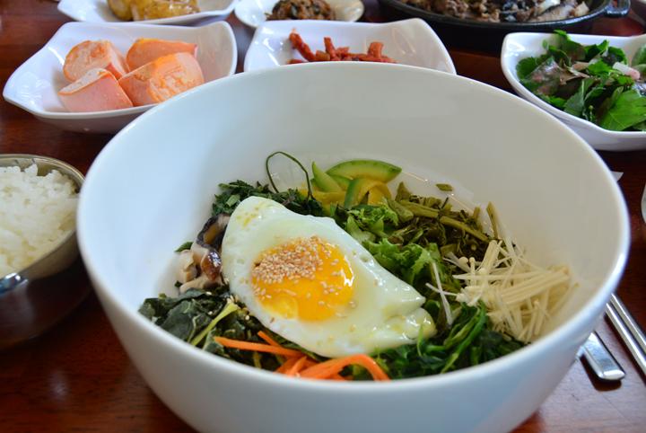 두메향기 비빔밥