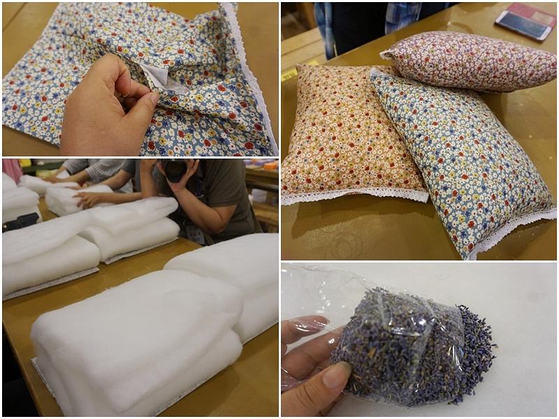 라벤더 베개 만드는 과정 사진