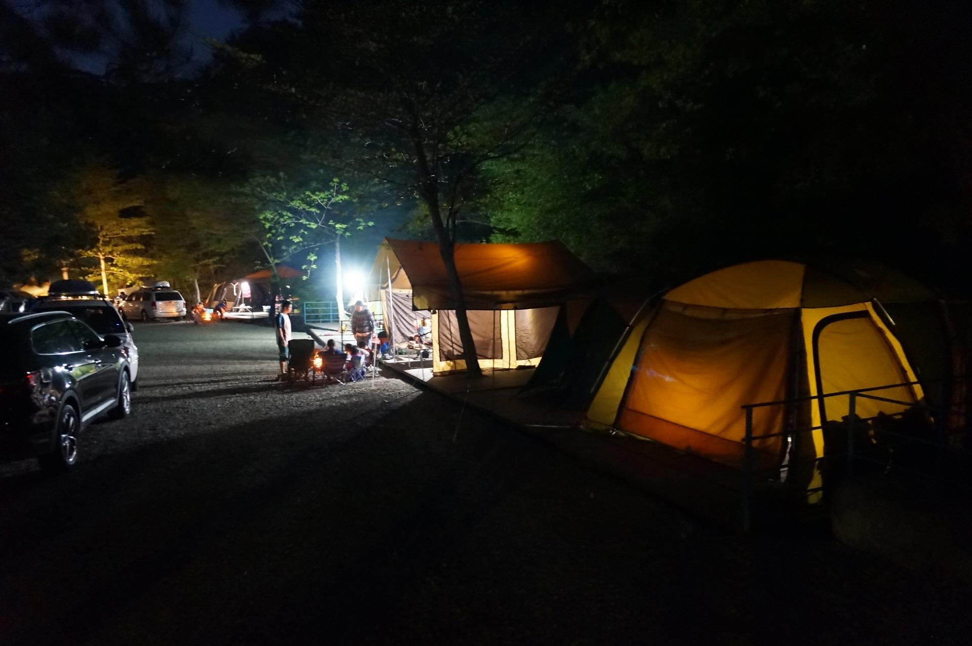 금광관광농원 캠핑장2