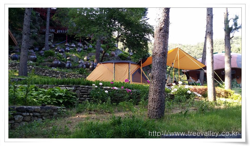 수목원 프로방스 캠핑장