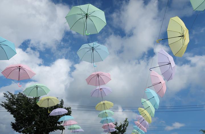 양평의 여름 하늘