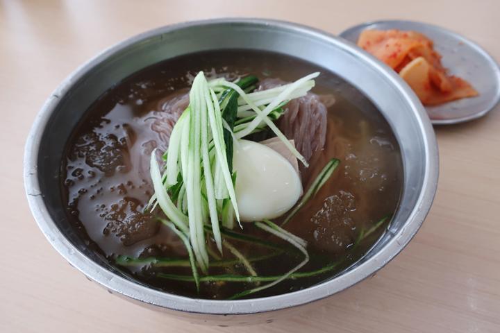 옥천냉면 황해식당