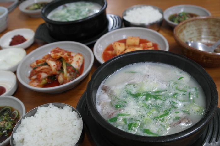 광주 골목집 소머리국밥