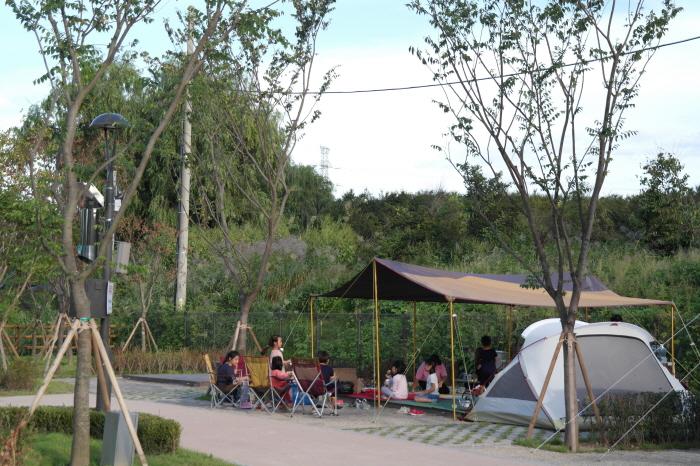 구리 토평 가족캠핑장
