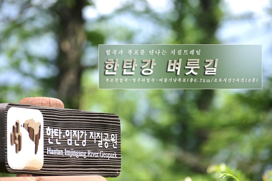 2017.6.29. 포천 한탄강 벼룻길