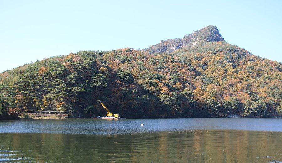 가을여행주간, 산정호수의 가을