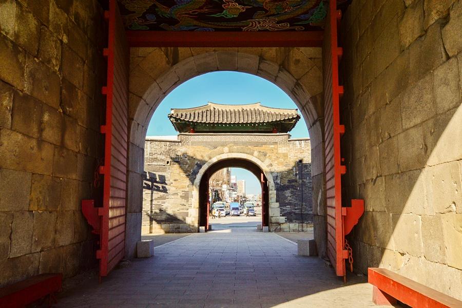 12월 수원 가볼만한곳 수원화성 성곽길 ( 팔달문 ~ 장안문 )