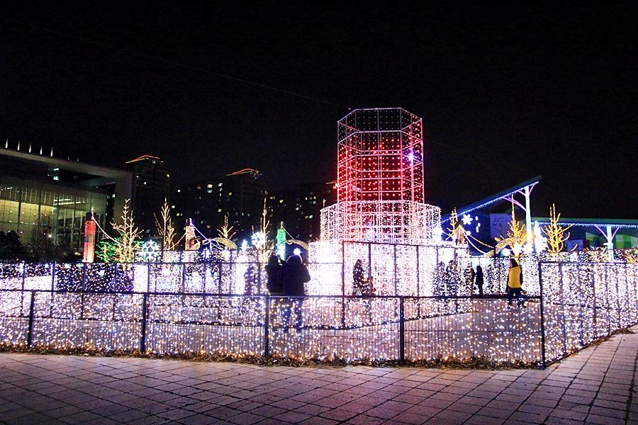 경기도 고양 겨울축제 고양호수꽃빛축제 개막