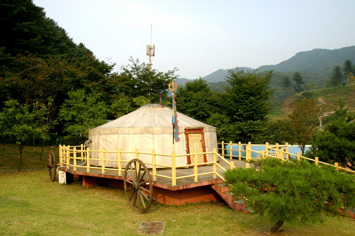 Mongolia Culture Town