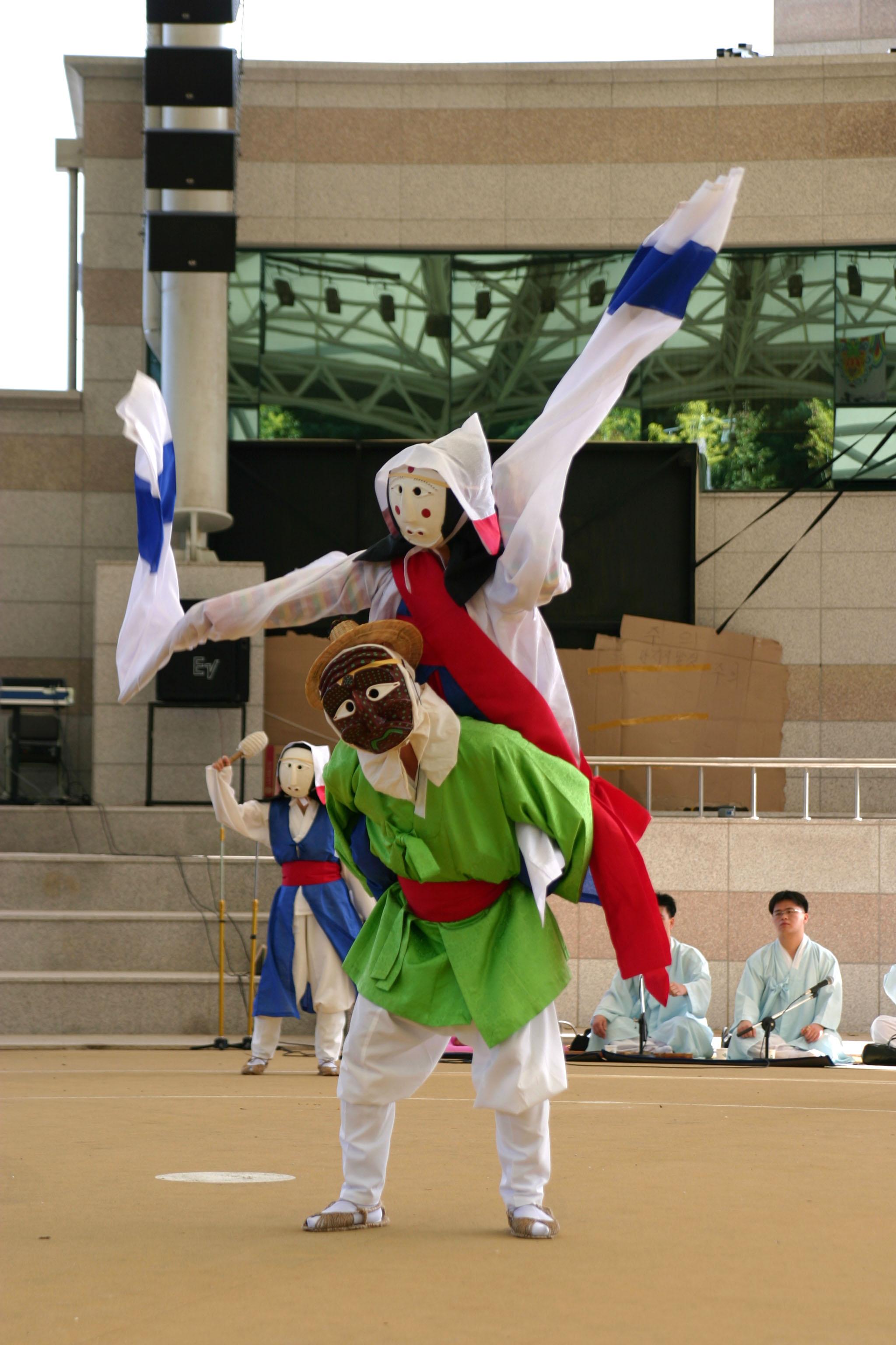 Yangju Mask Dance Drama Amphitheater