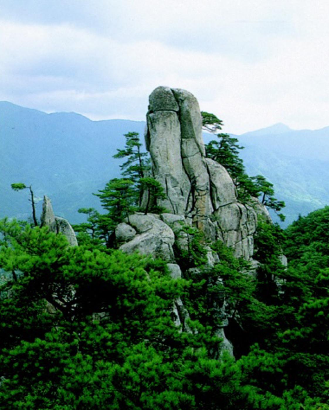 Woonaksan Mountain