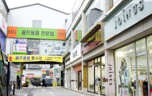 Jukjeon outlet shopping town