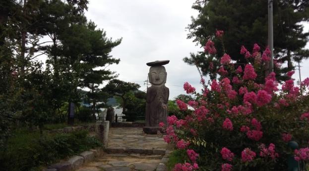 Standing Buddha in Mipyong-ri of Yongin