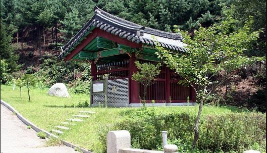 Sindobi, the Memorial Stone for Gongangong Jeong okhyeong · Chungjeonggong Jeong eungdu1
