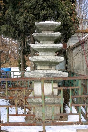 Five storied stone pagoda - Gongseri