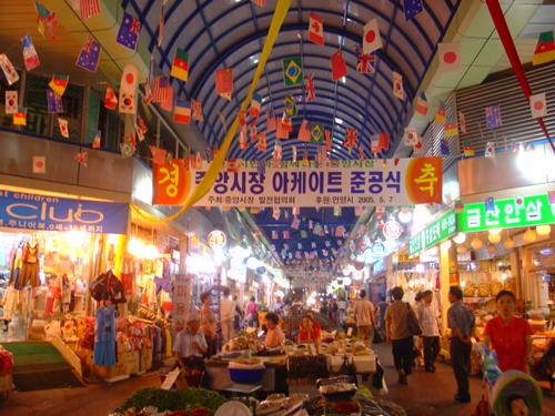 Gwanyang Market, Anyang