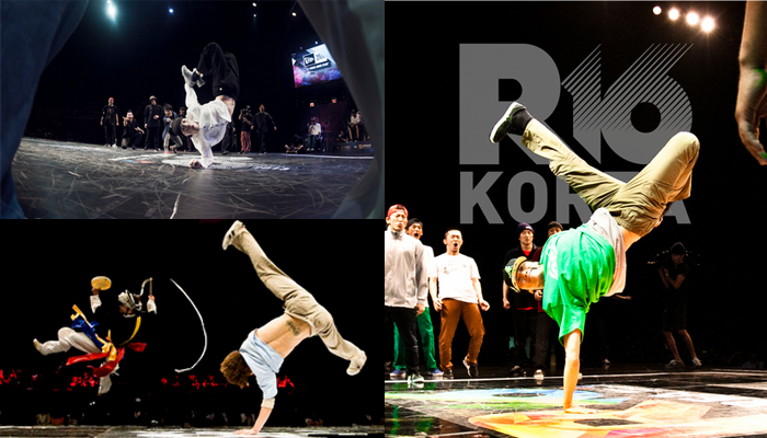 R16 KOREA B-boy大会韓国代表選抜戦