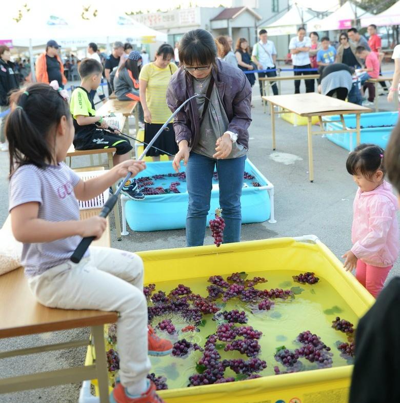 松山ブドウ祭り
