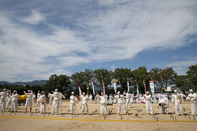 韓国民俗芸術祭り