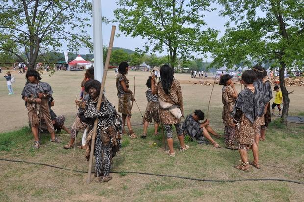 漣川旧石器祭り