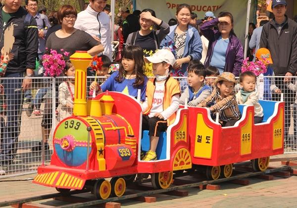 義王鉄道祭り