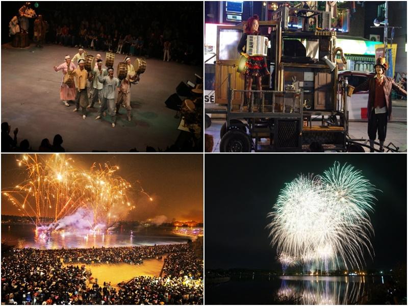 高陽湖芸術祭り