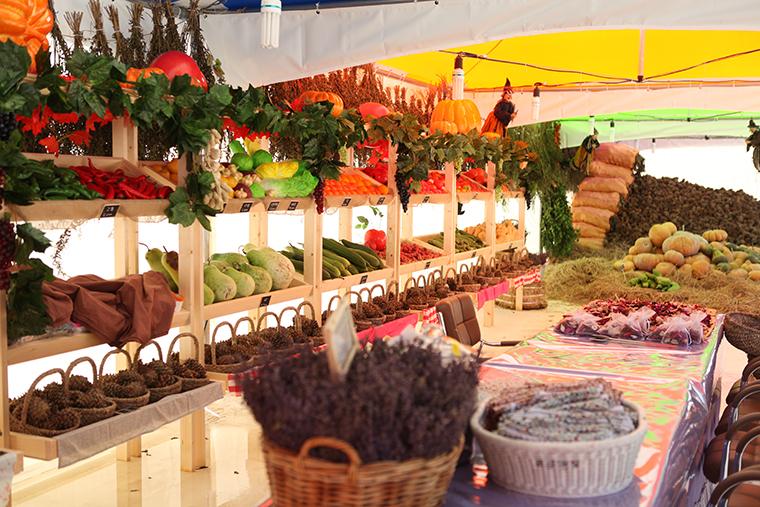 ハーブアイランド・ハーブ収穫祭り