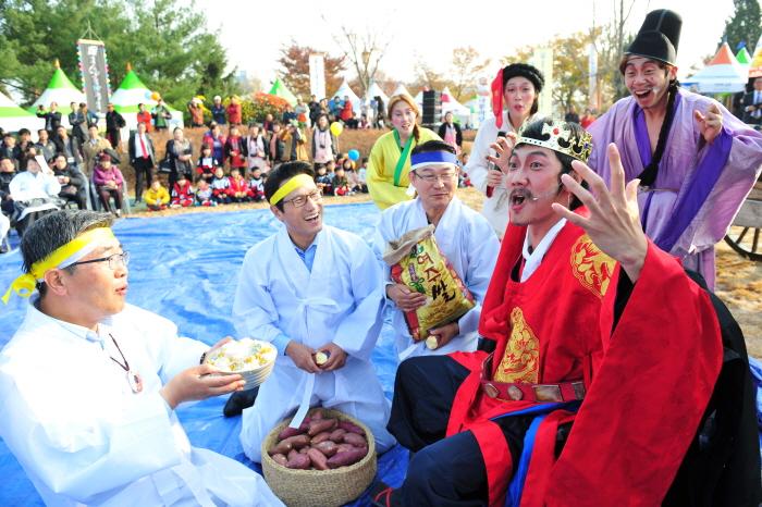 驪州五穀ナル祭り