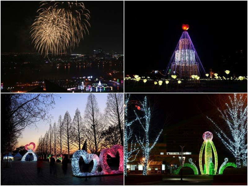 高陽湖フラワーライトフェスティバル