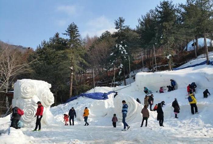 楊州雪花祭り