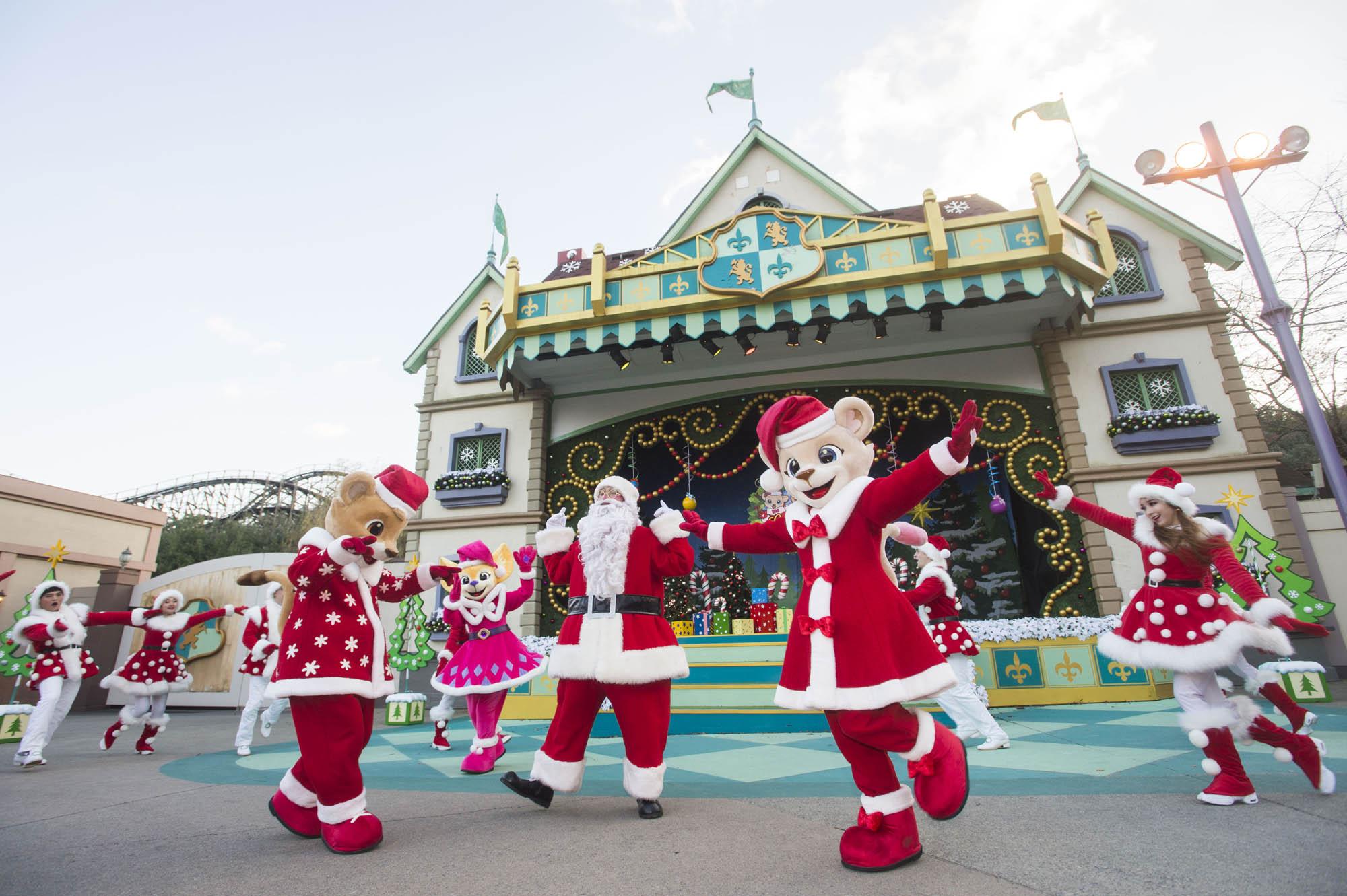 エバーランド、クリスマス特別公演イベント開催