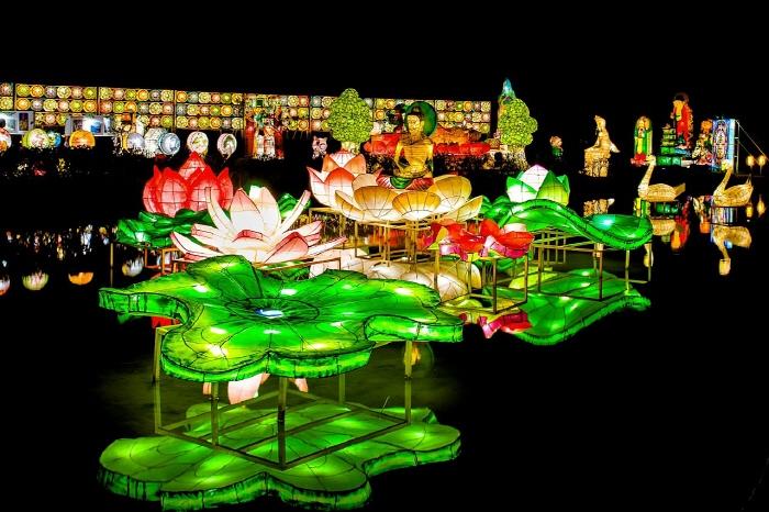 海印燃灯祭り
