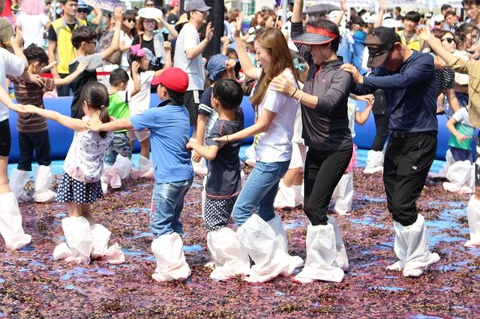 華城松山ぶどう祭り2017