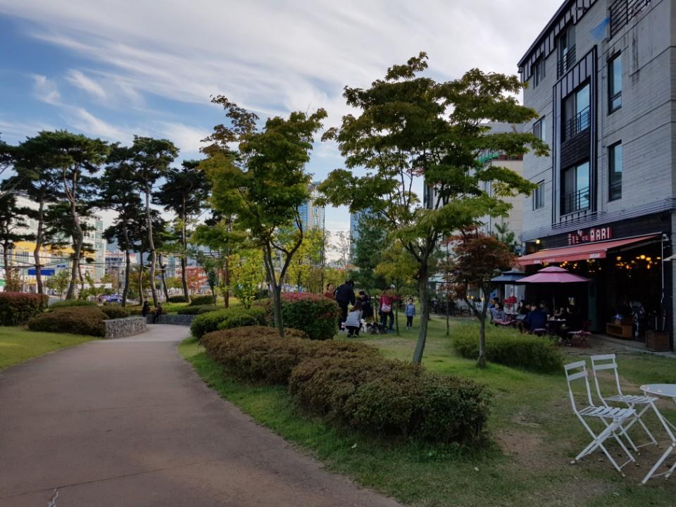 安養 トンピョン村 カフェ通り