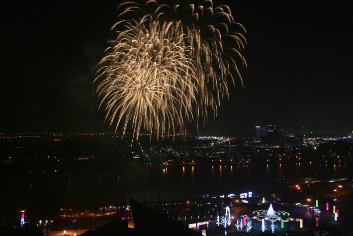 高陽 湖花光祭り 2017