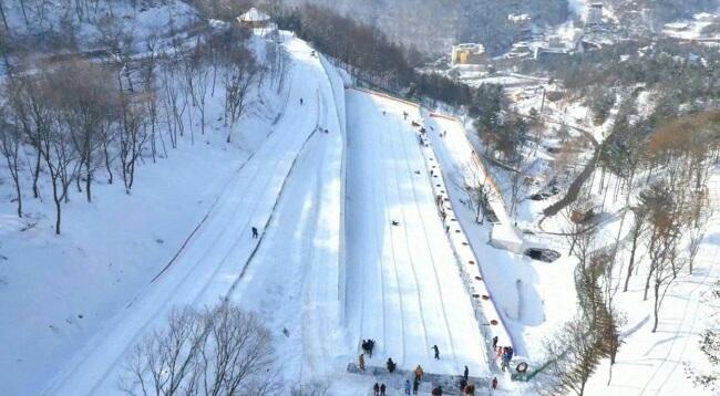 楊州 雪花祭り 2018