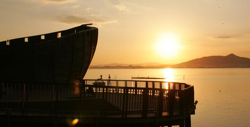 平沢湖 観光団地4
