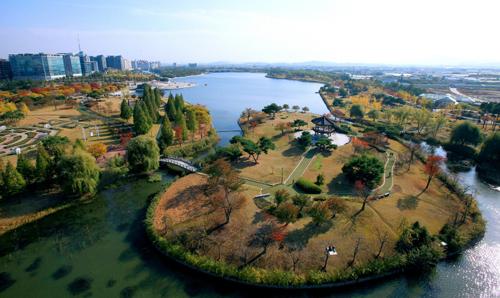 一山湖水公园