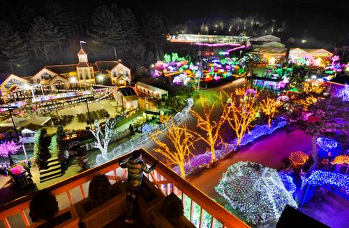 香草岛乐园灯光童话节