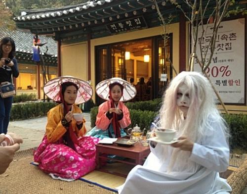 2015 韩国民俗村古装电视剧庆典