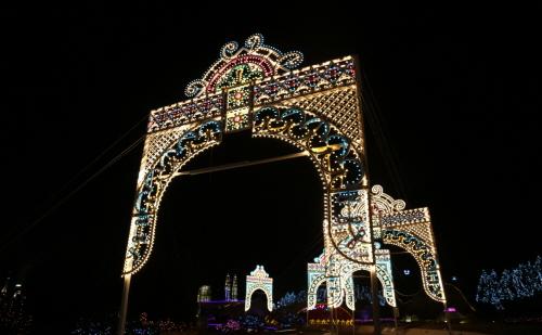 AIINS WORLD灯光节-世界夜景Lumilaluce2