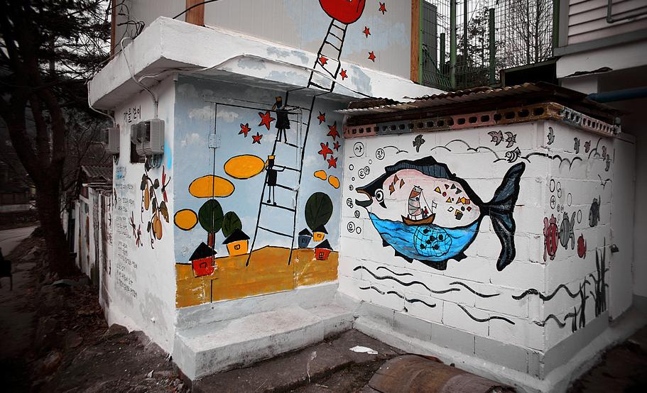 纳德谷壁画村