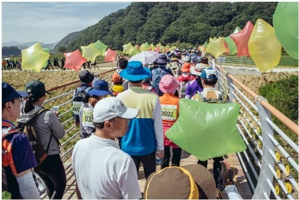 2017涟川和平世界路徒步活动